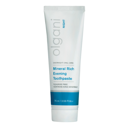olgani - night - mineral rich evening toothpaste