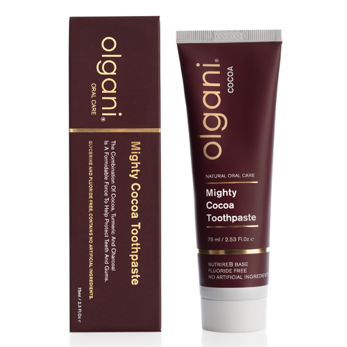 olgani - mighty cocoa toothpaste