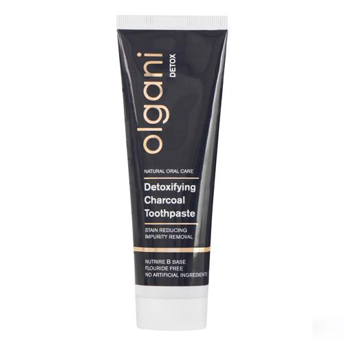 olgani - detox - detoxifying charcoal toothpaste