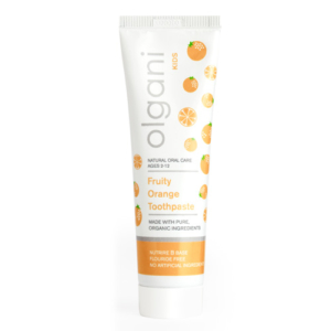 olgani - kids - fruity orange toothpaste