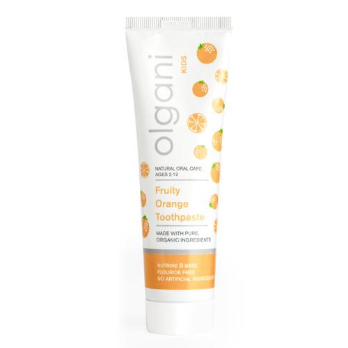 olgani - kids - fruity orange toothpaste
